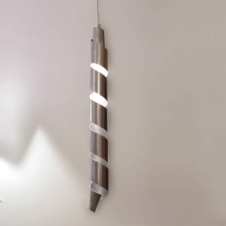 lange moderne hanglamp zebra. Black Bedroom Furniture Sets. Home Design Ideas