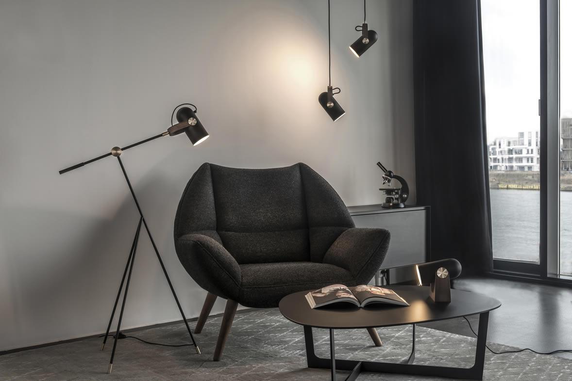 Woonkamer Staande Lamp : Scandinavisch design: moderne leeslampen en uplights