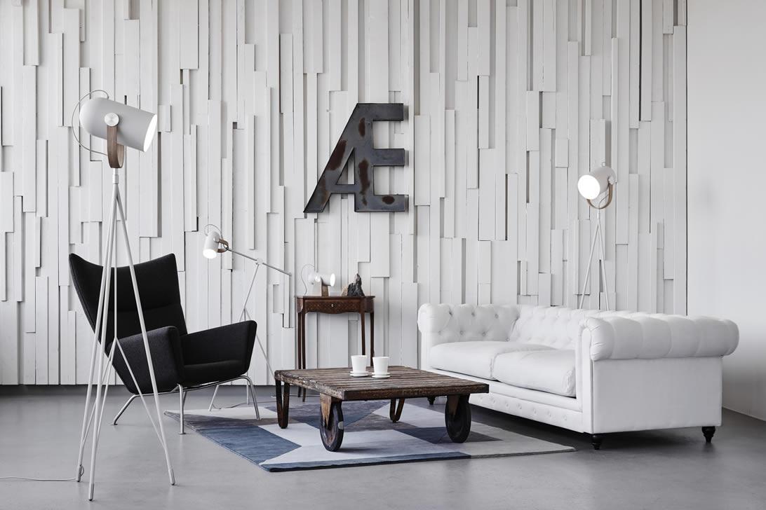 Woonkamer Staande Lamp : Scandinavisch design moderne leeslampen en uplights