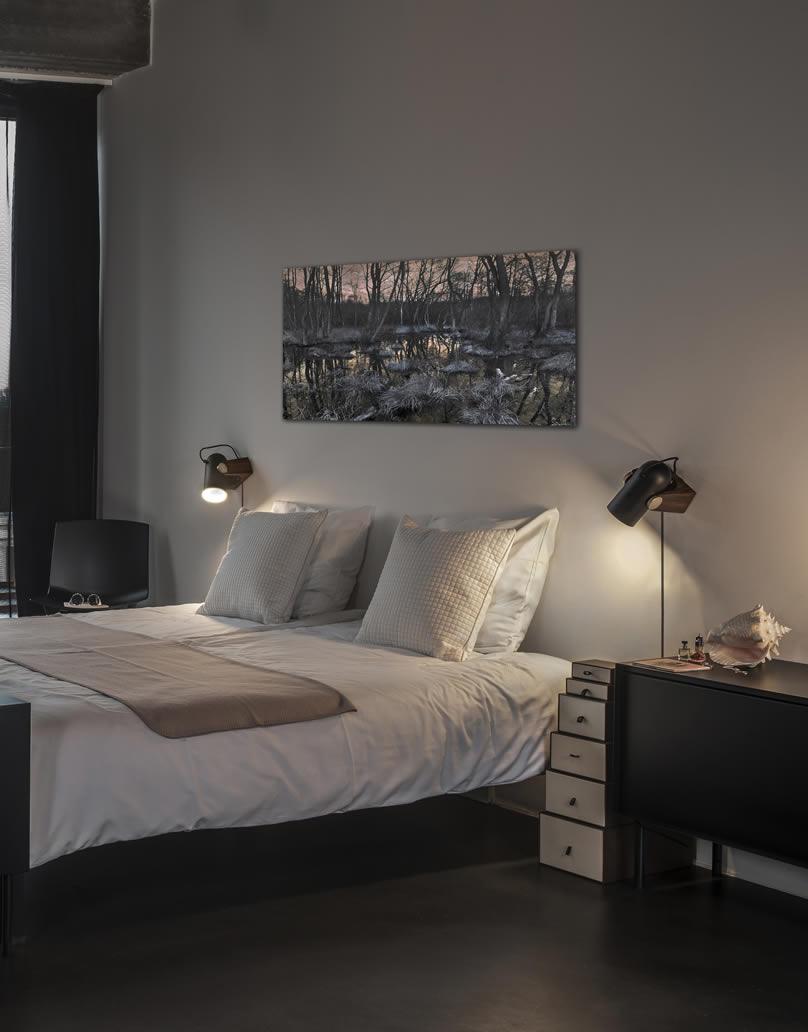 stiljvolle design wandlamp spotjes