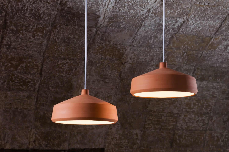 handgemaakte terracotta lampen. Black Bedroom Furniture Sets. Home Design Ideas