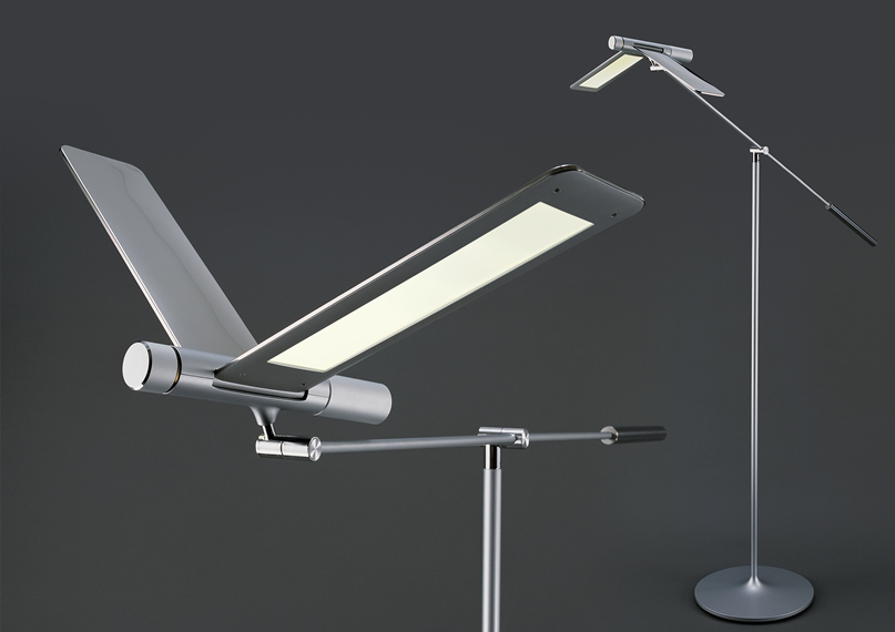 Moderne design LED leeslamp en tafellamp Seagull
