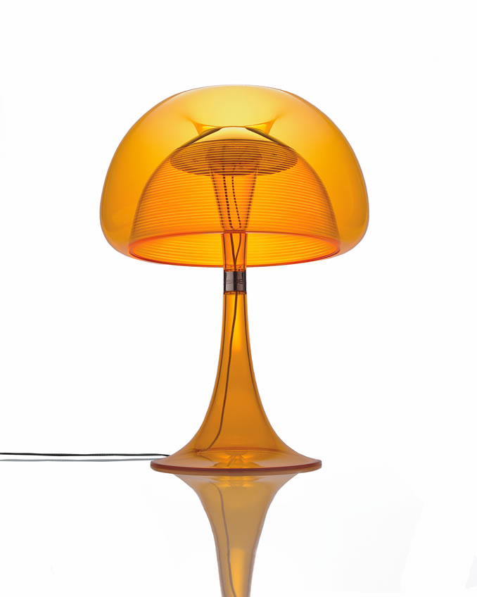 Hippe design tafellamp met LED verlichting