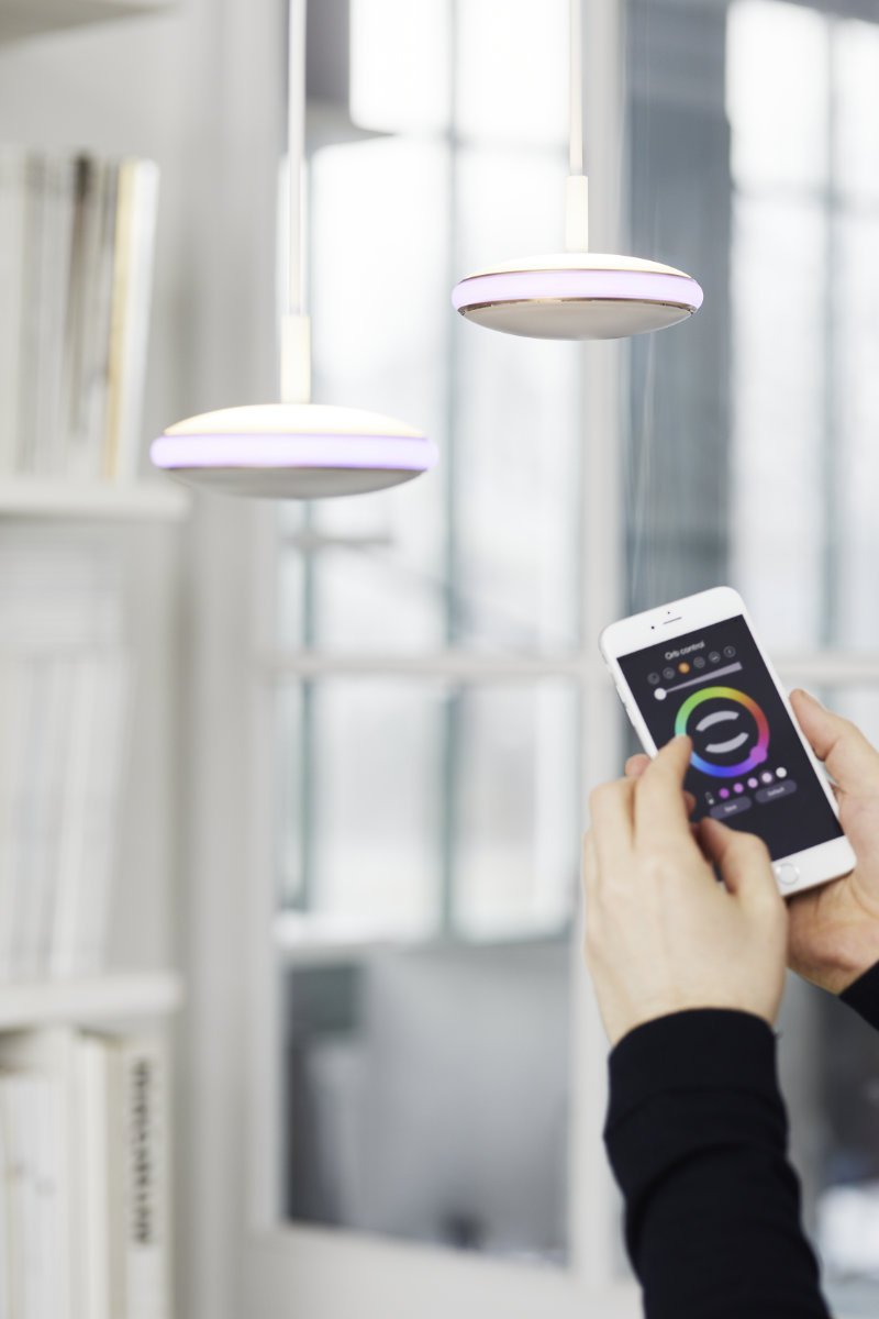 Shade Led Hanglamp Keuken App Mobiel Iphone
