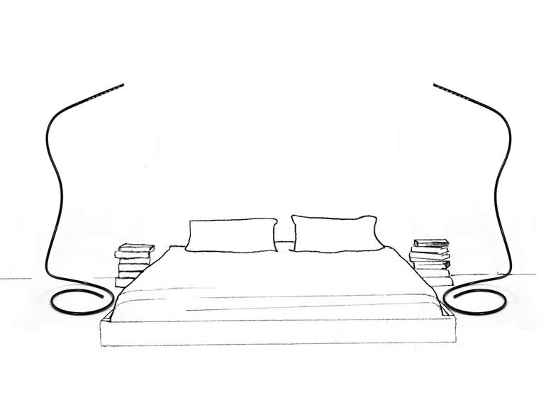 Slaapkamer Lamp Led : verlichting slaapkamer leeslamp : bruin Leeslamp Nachttafellamp