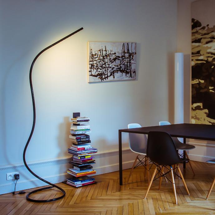 led leeslamp en staande lamp, Deco ideeën