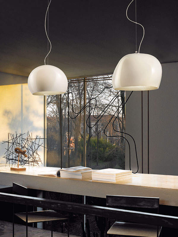 Eetafel hanglampen aparte glazen lampen for Aparte lampen