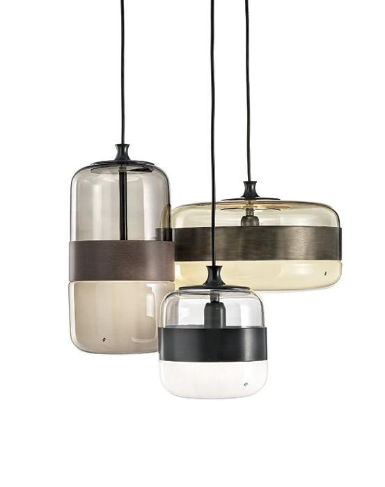 Hanglampen glazen design lampen eetafel for Hanglamp eettafel