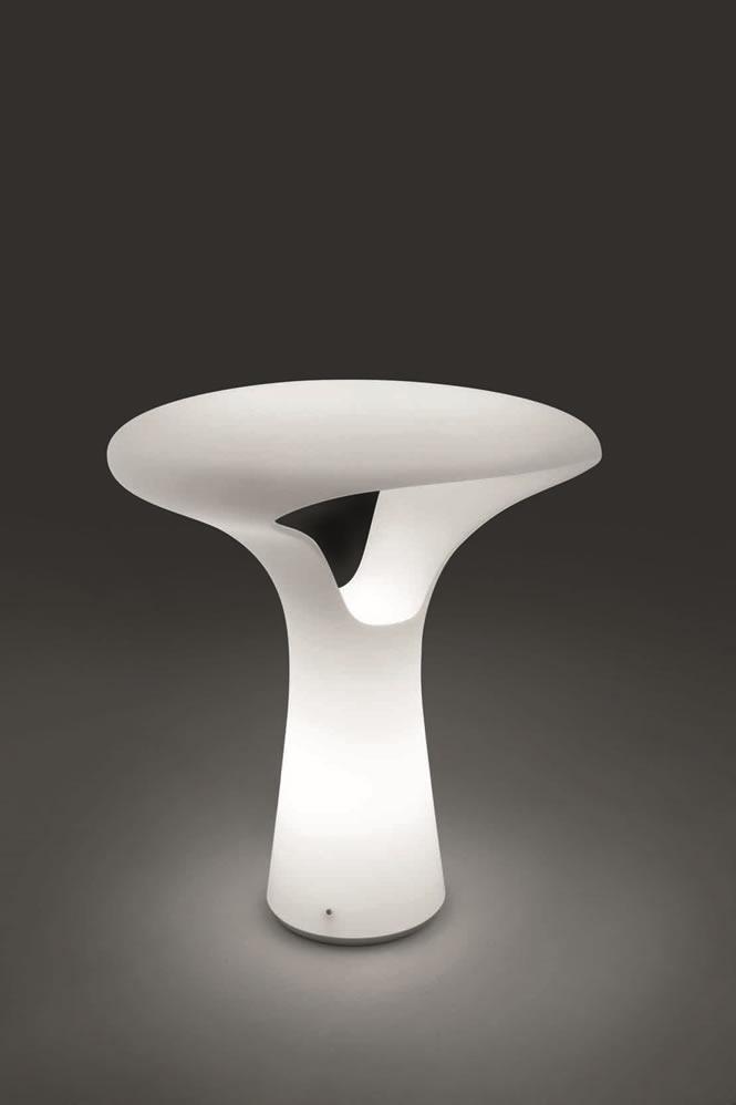 Hanglamp Tafellamp Glas Design Ferea Lt