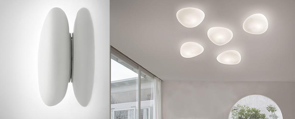Woonkamer Bijzonder Gevormde Glazen Plafondlampen