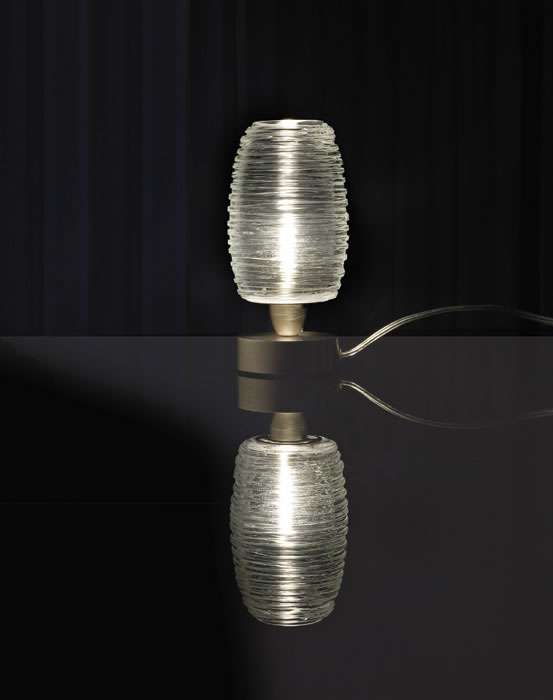 Schemerlamp Glas
