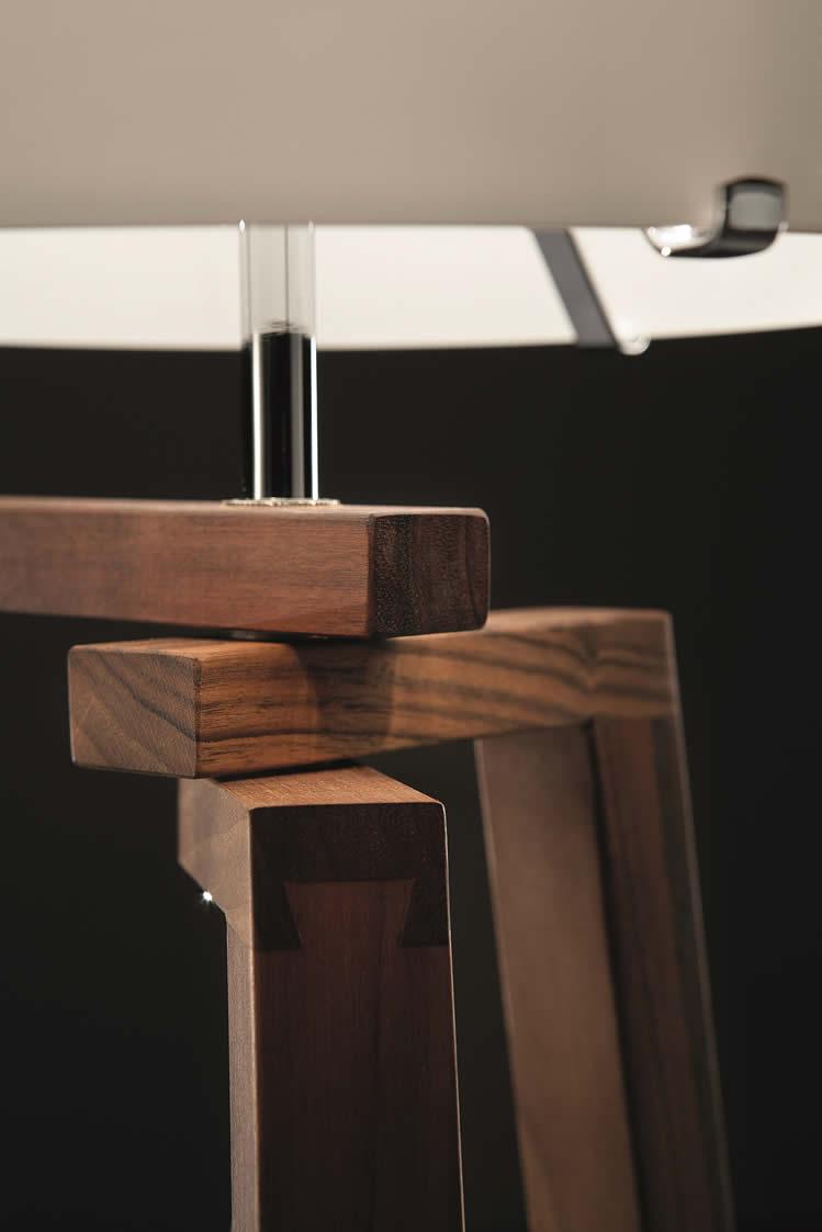 Lampen design en moderne verlichting for Design lamp hout