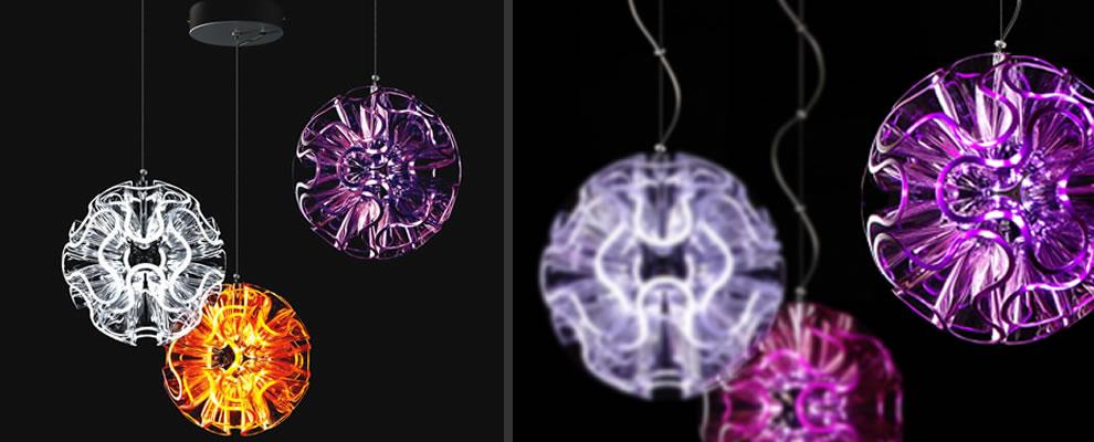 home hanglampen coral ball coral ball deze led hanglampen zijn