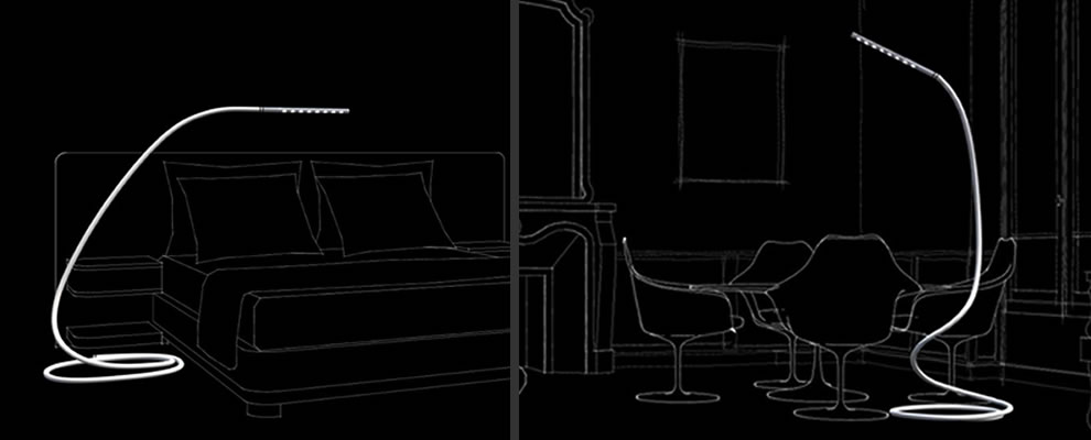 led leeslamp en staande lamp. Black Bedroom Furniture Sets. Home Design Ideas