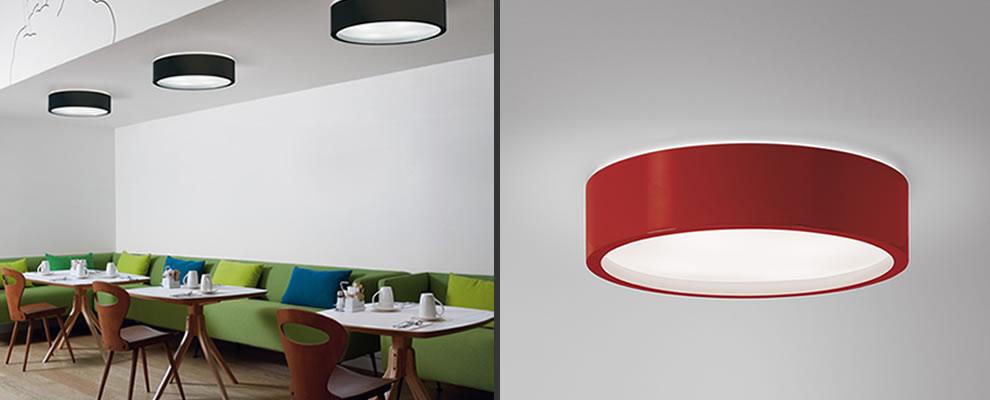 Keukenverlichting: Chique plafondlampenlampen boven de eettafel