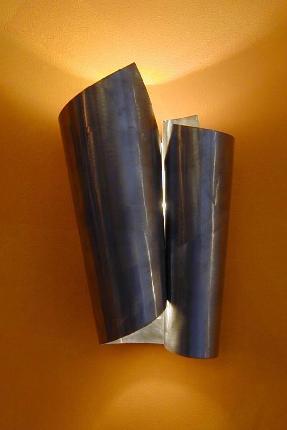 Wandlampen design rvs hal clouds - Wohnzimmer wandlampen ...