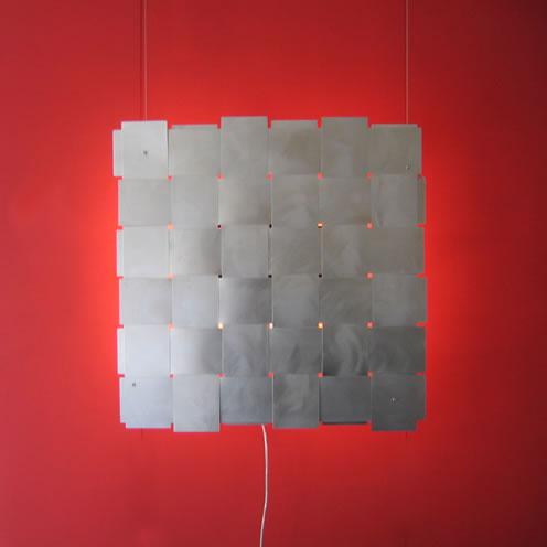 Design wandlamp - kunst- en lichtobject