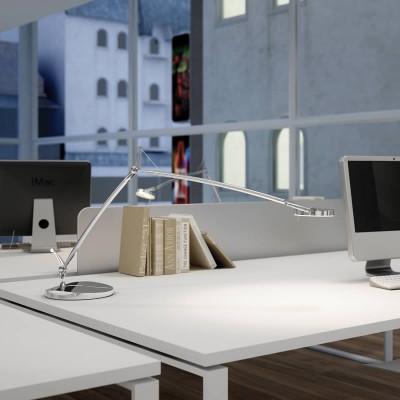 bureaulamp en LED leeslamp