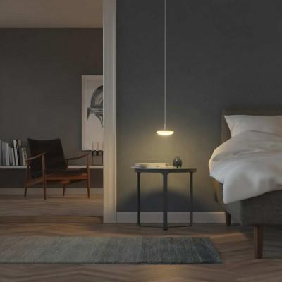 LED RGB hanglampen woonkamer eettafel