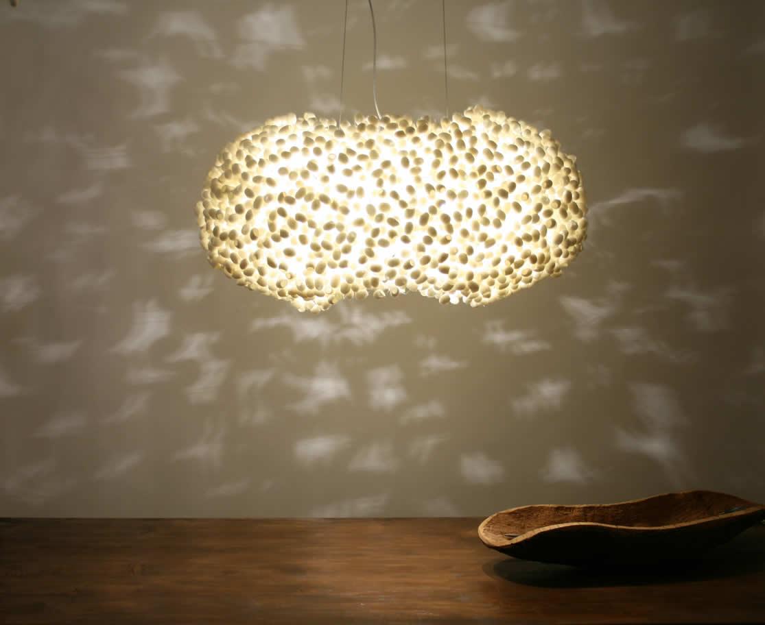 Zeer Hanglamp en grote lamp #UB55