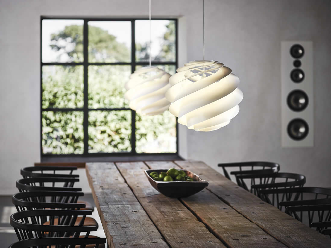 Fabulous Witte hanglampen en deens design @WF53
