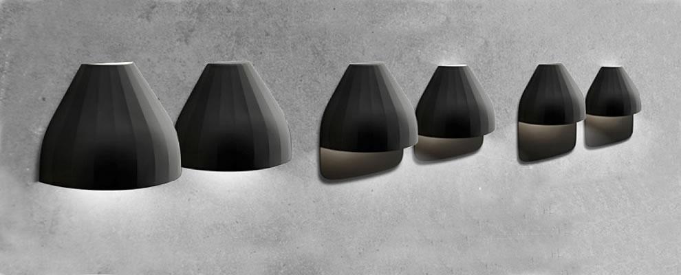 Betere Moderne LED design buitenlamp voordeur WD-14