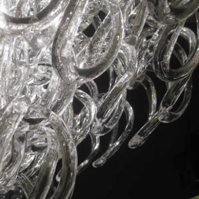 Exclusieve klassieke glas design hanglamp
