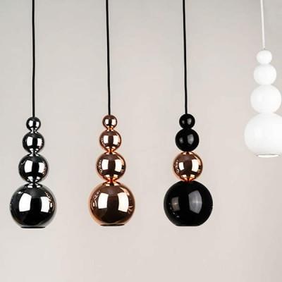 hanglampen spots in koper,zwart en chroom