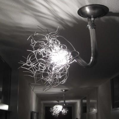 plafondlamp en plafondspot