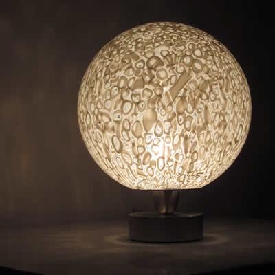 design glas tafellampen & schemer verlichting