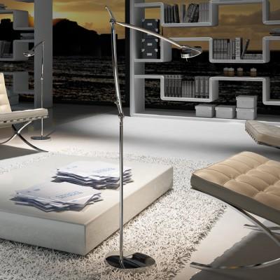 staande lamplamp en LED leeslamp
