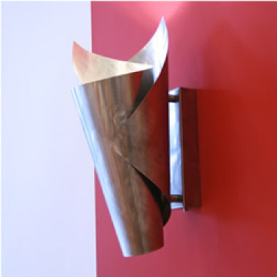 Moderne design wandlampen rvs en messing